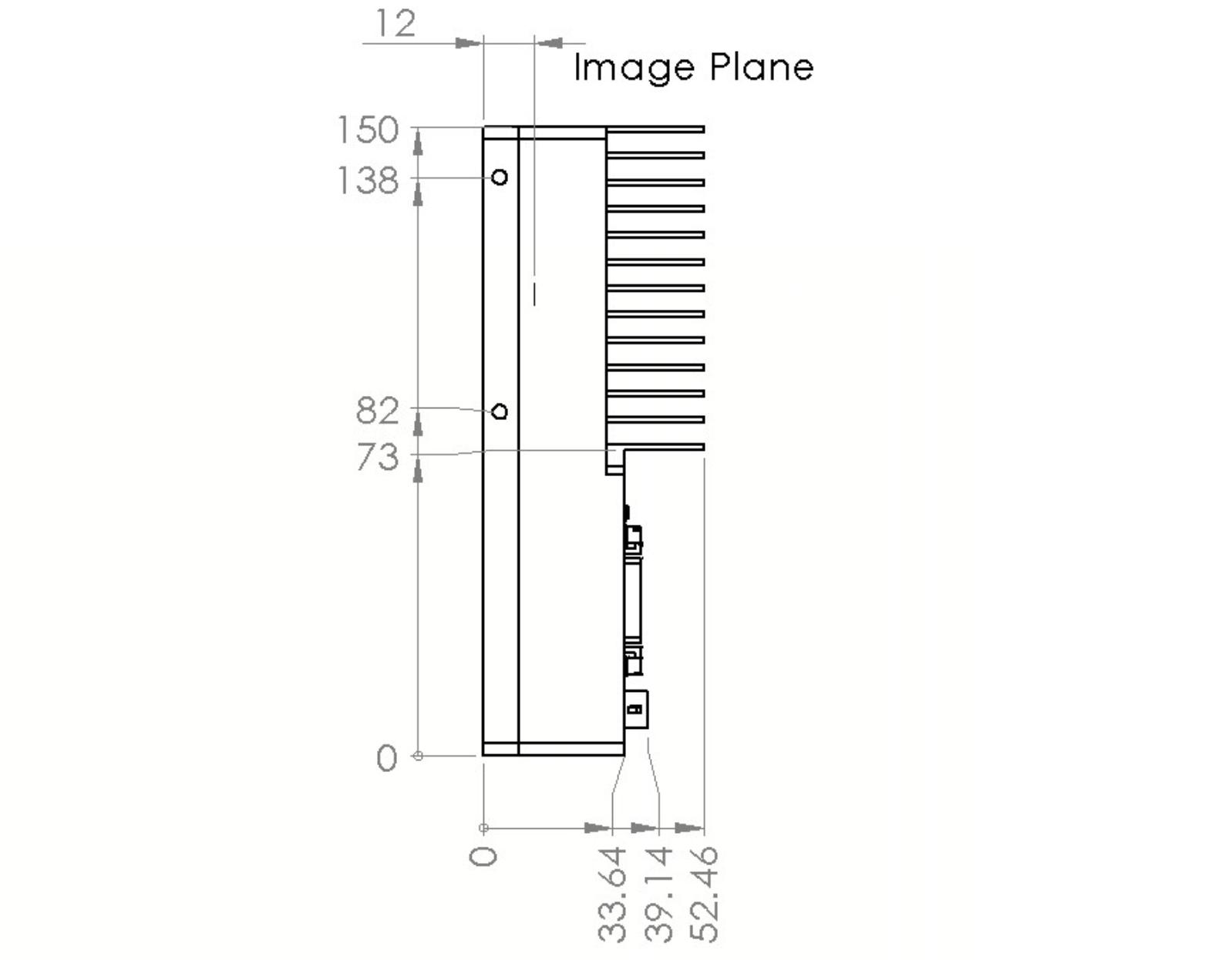 CLS-8k-M39 dimensions