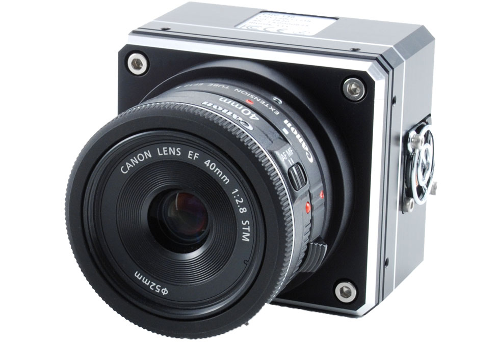 120MP Rolling Shutter CMOS with Lens